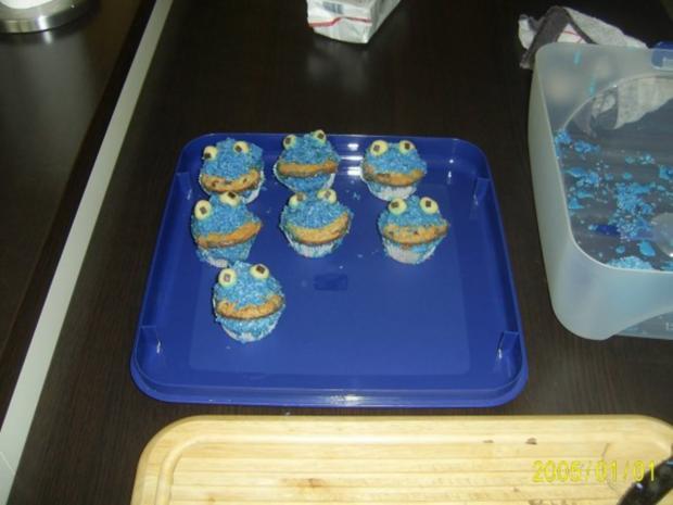Muffins: Lustige Monster-Gesichter - Rezept - Bild Nr. 16