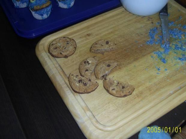 Muffins: Lustige Monster-Gesichter - Rezept - Bild Nr. 17