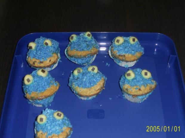 Muffins: Lustige Monster-Gesichter - Rezept - Bild Nr. 19