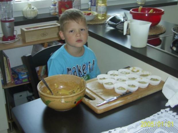 Muffins: Lustige Monster-Gesichter - Rezept - Bild Nr. 6