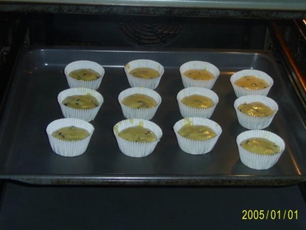 Muffins: Lustige Monster-Gesichter - Rezept - Bild Nr. 7