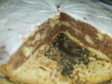 Kuchen: Fleckenkuchen mit Zuckerguss - Rezept