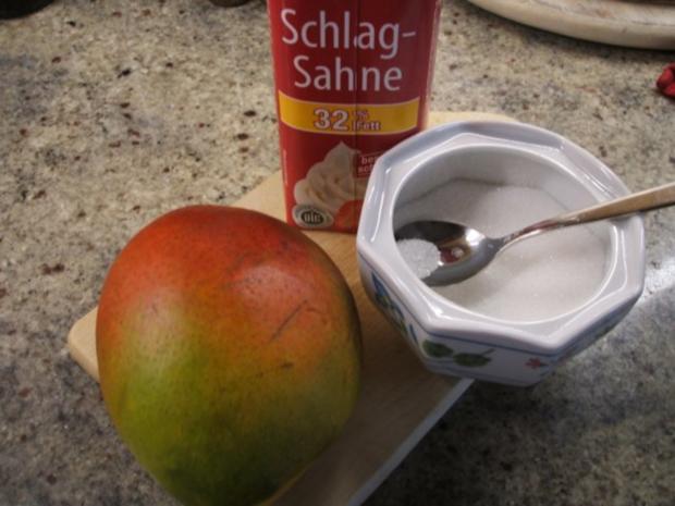 Backen: Zweifarbiger Käsekuchen mit Mangosahne  ***Happy Birthday, liebe Eva-Maria*** - Rezept - Bild Nr. 16
