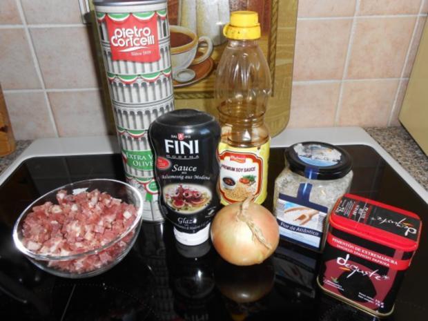 Würziges Balsamico - Dressing - Rezept