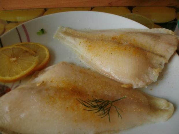 gedünstetes Schollenfilet  in grüner Currysauce - Rezept - Bild Nr. 4