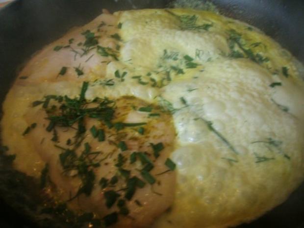 gedünstetes Schollenfilet  in grüner Currysauce - Rezept - Bild Nr. 8