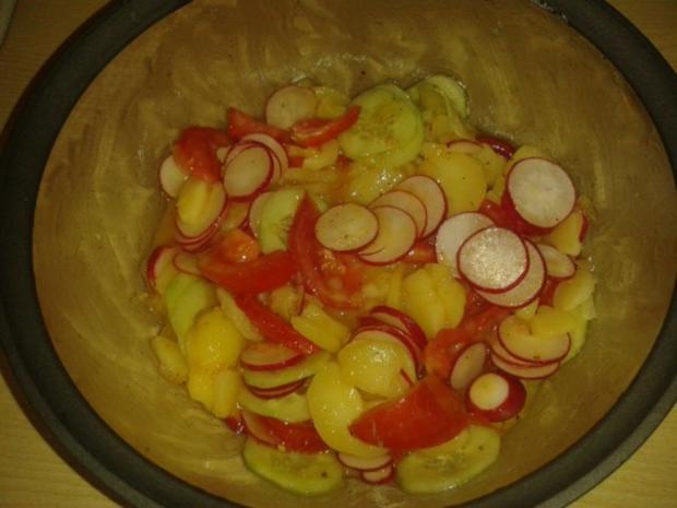 Sommerlicher Kartoffelsalat - Rezept - Bild Nr. 5