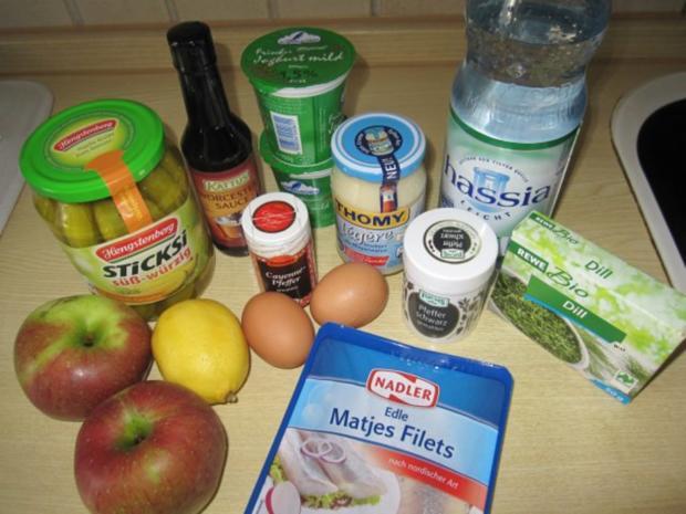 Fruchtiger Matjessalat - Rezept - Bild Nr. 2