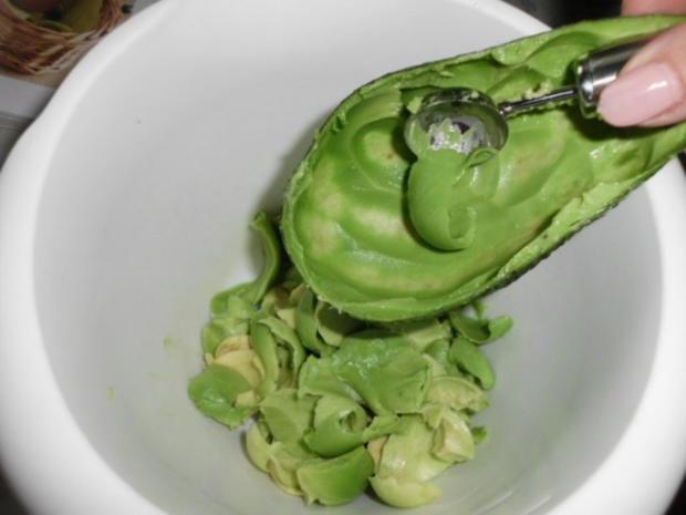 Avocadocreme auf getoastetem Baguette - Rezept - Bild Nr. 3
