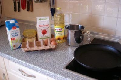 Pfannkuchen-Hackfleisch-Lasagne - Rezept