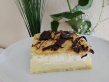 Brandteigkuchen mit Vanillecreme, dazu Waldbeermus (so wird das in Ungarn gemacht) - Rezept