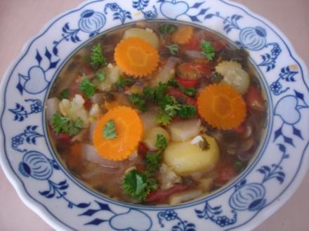 Gemüseeintopf à la Minestrone - Rezept