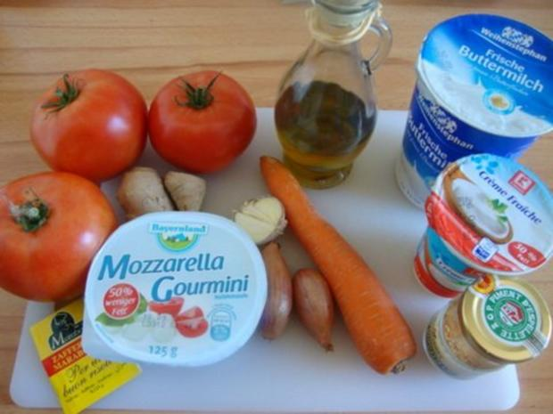 """eine Tomatensuppe in """"Bestform"""" - Rezept - Bild Nr. 3"""