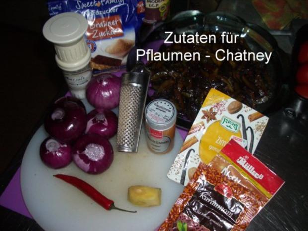 Pflaumen - Chatney - Rezept - Bild Nr. 2