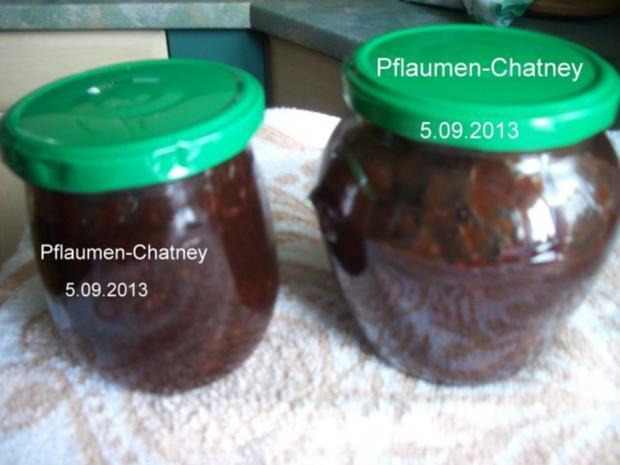 Pflaumen - Chatney - Rezept