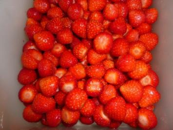 Getränk: Erdbeerlikör - Rezept