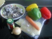 Ohne Fleisch: Würzig-scharfer Gemüsereis aus dem Wok - Rezept
