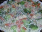 Auflauf: Gemüse-Quiche - Rezept