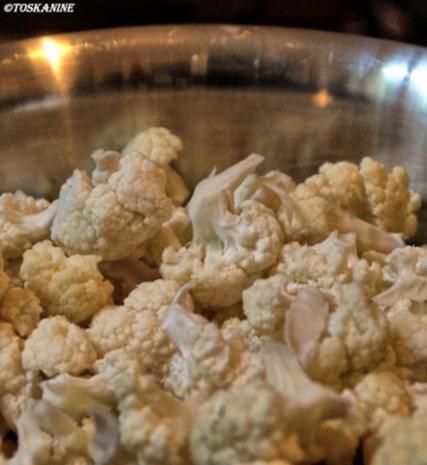 Orientalische Blumenkohl-Couscous-Pfanne mit Joghurt-Dipp - Rezept - Bild Nr. 3