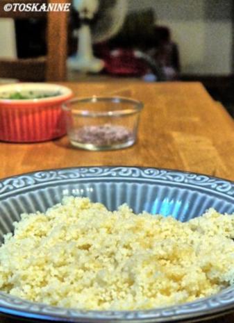 Orientalische Blumenkohl-Couscous-Pfanne mit Joghurt-Dipp - Rezept - Bild Nr. 14