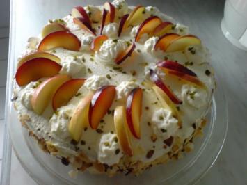 Apfel-Pflaumen-Torte - Rezept