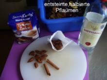 Pflaumenlikör - Rezept