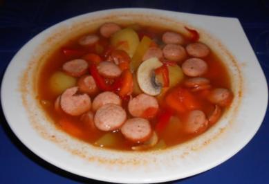 Rezept: Schnelle Gemüsesuppe