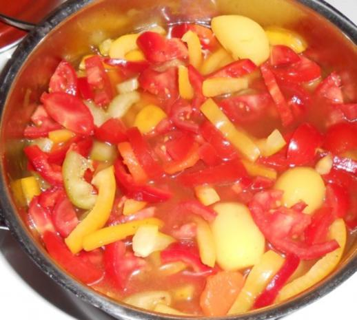 Schnelle Gemüsesuppe - Rezept - Bild Nr. 11