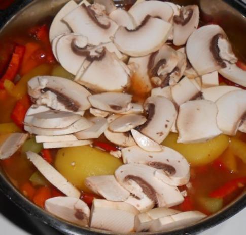 Schnelle Gemüsesuppe - Rezept - Bild Nr. 12