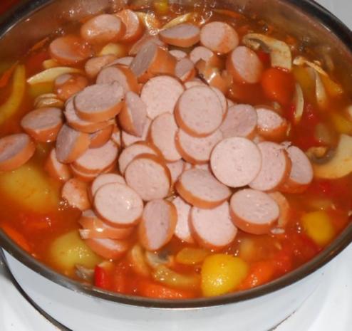 Schnelle Gemüsesuppe - Rezept - Bild Nr. 13