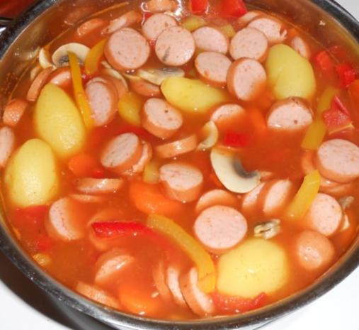 Schnelle Gemüsesuppe - Rezept - Bild Nr. 14