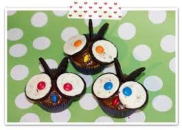 Eulen-Muffins - Rezept - Bild Nr. 5