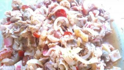Meeresfrüchte-Salat - Rezept