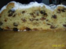 Weihnachtsbäckerei: Dresdner Stollen - Rezept