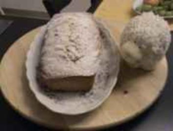 Kuchen: Sandkuchen mit Rosinen - Rezept