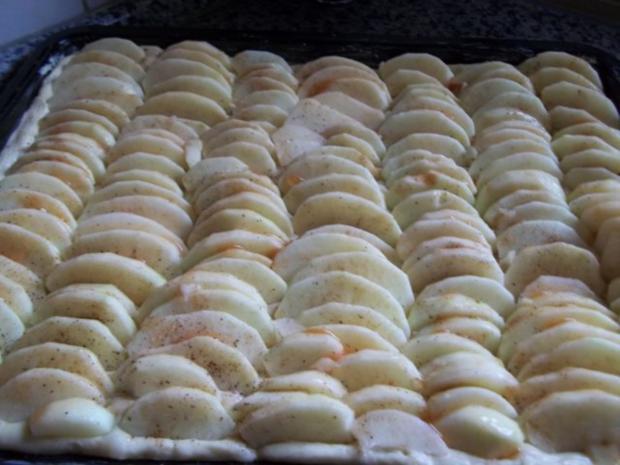 Apfelkuchen vom Blech Nr.2 - Rezept - Bild Nr. 6
