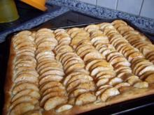 Apfelkuchen vom Blech Nr.2 - Rezept