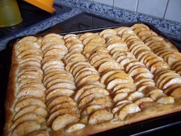 Apfelkuchen Vom Blech Nr 2 Rezept Mit Bild Kochbar De