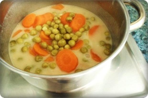 Gebratene Scholle auf Gemüsebett mit leckerem Stampfkartoffel - Türmchen - Rezept - Bild Nr. 19