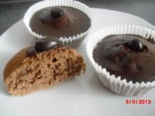 Muffin mit Kaffee und Kakao, - Rezept