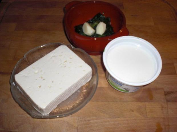 Spinat-Schafskäse-Créme - Rezept - Bild Nr. 2