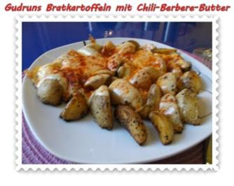 Kartoffeln: Bratkartoffeln mit Chili-Berbere-Butter - Rezept