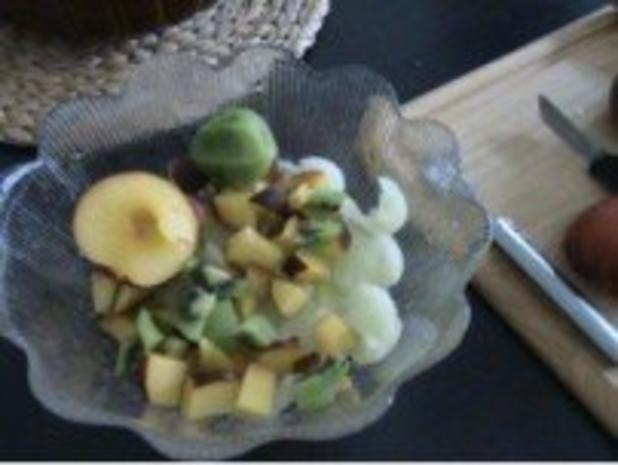 Dessert: Exotisch fruchtiger Obstsalat - Rezept - Bild Nr. 3