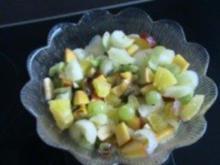 Dessert: Exotisch fruchtiger Obstsalat - Rezept