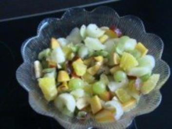 Rezept: Dessert: Exotisch fruchtiger Obstsalat