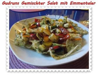 Salat: Gemischter Salat mit Emmentaler - Rezept