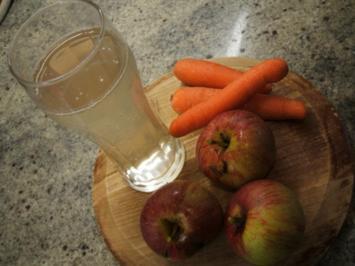 Vorrat: Apfel-Karotten-Saft - Rezept
