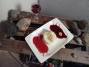 Panna Cotta auf Sommerfrüchtespiegel - Rezept