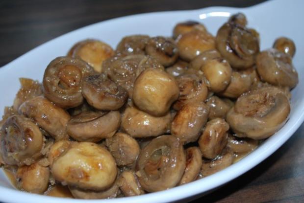 Sherry-Champignons - Rezept