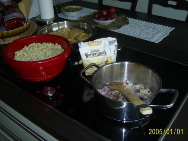 Schwein: Spirelli mit Jägerschnitzel & Tomatensoße - Rezept - Bild Nr. 6